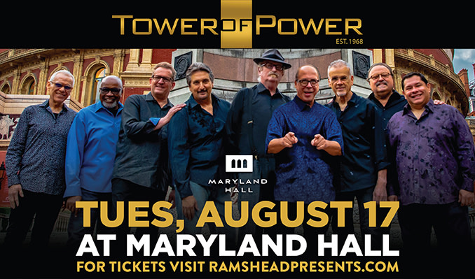 Ann Wilson of Heart, Tower of Power at Maryland Hall in August + Marshall Tucker Band new date!